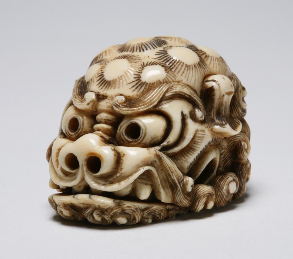 Featured image for the project: Head of a shishi