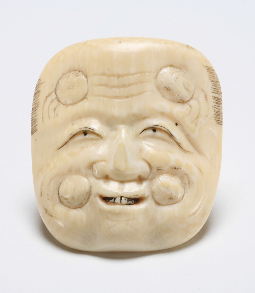 Featured image for the project: Okina (old man) mask