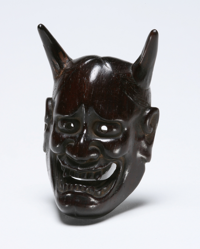 Featured image for the project: Noh mask of Hannya